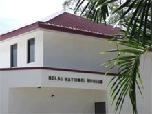 Belau National Museum's newly completed building.